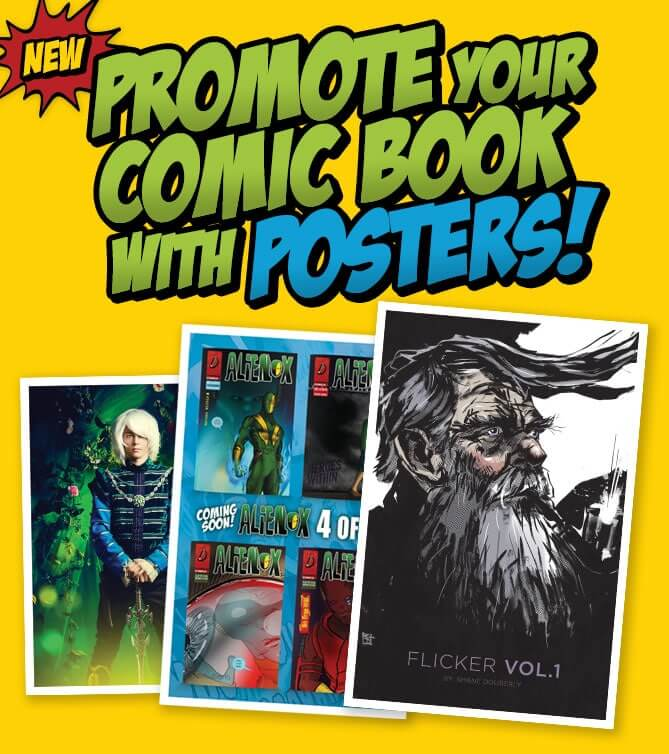New Posters for Comic Books