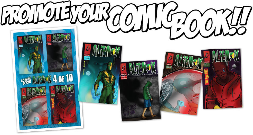 Publish Your Comic Book