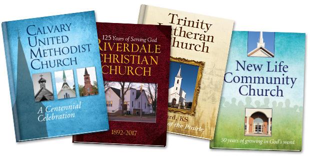 Books We've Published - Church Anniversary - Morris Publishing